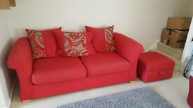 DFS sofa and storage box