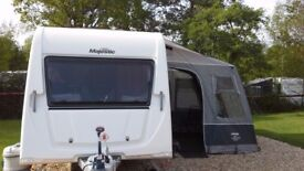 2013 Elddis Xplore 4 berth tourer.