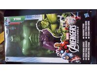 Marvel Thor and hulk figures