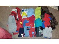 Boys 3-4 bundle(24 items including 2 coats)