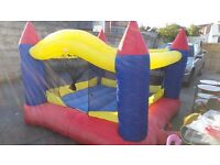 Bouncy Castle with Blower 6ftx6ftx5ft high - ideal for toddlers etc.. hours of fun Only £39.00