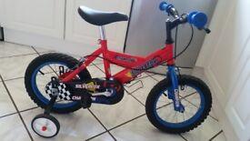 Childs / childrens bike - 14 inch wheels