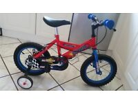 Childs / childrens bike - 14 inch wheels