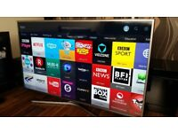SAMSUNG 55-inch UHD 4K HDR Smart LED TV,builtin Wifi,Freeview HD,Netflix,Fully Working