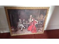 B Boziona Paris Painting Picture / Print in Frame