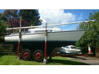 OFFSHORE 8MT 26'3 SAILING YACHT GREAT VALUE AT ONLY £4500