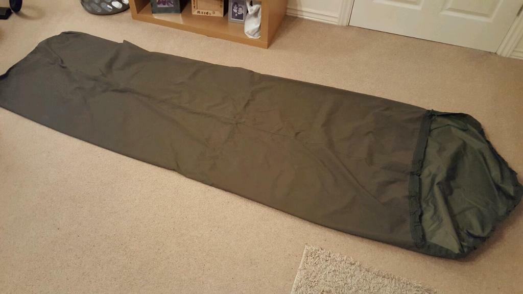 British Army Bivi Bag And Thermal Self Inflating Sleeping Mat