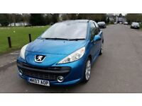 2007 Peugeot 207 1.6 HDi GT 3dr FULL SERVICE HISTORY Fully HPI Clear @07725982426@
