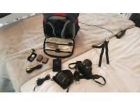 Nikon D5100 DSLR camera kit.