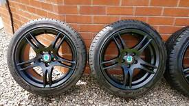 "16"" 5 x 100 Alloys 38mm offset with 205/45R16 83Y Goodyear Eagle F1 Tyres"