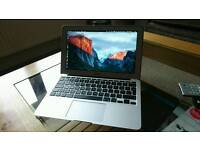 Apple MacBook Air with accessories