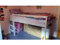 Midi Sleeper Bed, only two years old in excellent condition.