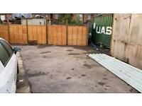 Secure Jard / Open Storage / Parking for 7 Cars Woodgreen