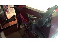 "Womens Girls 26"" bike can sell with kids seat if needed"