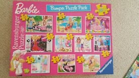 For Sale: Barbie Bumper Puzzle Pack Jigsaws