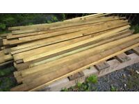 tanalized treated timber battens