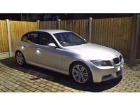 BMW 3 SERIES 2.0 318i M SPORT 4DR SUEDE-FABRIC INTERIOR-2KEY not mercedes c class bmw 5 series car