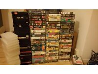 VHS 112 Classic Films/TV Shows **Collection only ** £14 CHEAP!!!