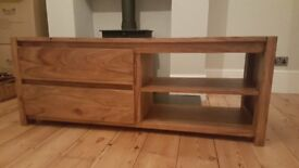 TV Unit/ sideboard - John Lewis solid sheesham wood