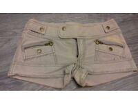 Ladies golddigga skirt & shorts