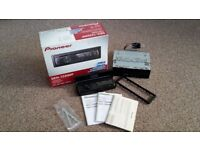 Pioneer DEH-1220MP CD Car Stereo with Front Aux input
