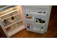 Free standing Hotpoint fridge, will fit under worktop