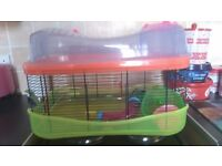 large 2 tier hamster cage and extra accessories
