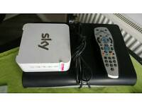Sky HD Box + Router and Remote