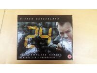 24 The Complete Series Seasons 1 - 8 + Redemption ( DVD, not Blu-Ray )