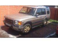 landrover discovery td5 with low milage