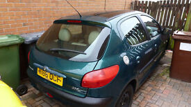 peugeot 206 Roland garros 1.4 auto for breaking