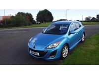 "MAZDA 3 2.2 TD SPORT,2011,17""Alloys,Leather,Air Con,Cruise,Parking Sensors,Sat Nav,47,000mls"