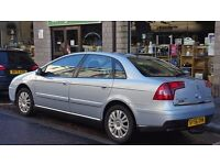 Citroen C5 1.6 Hdi (06 plate, 90k miles). Lovely family car, with plenty of space inside.