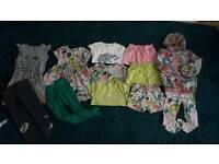 Next dinosaur range 4/5 years bundle coat outfit summer