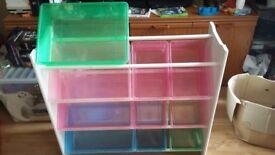 Storage unit (one box missing)