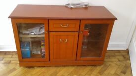 The dinning room cabinet for sale of £80