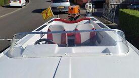 motor boat Broom