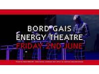 1 x Kraftwerk Ticket // Dublin // 2nd of June