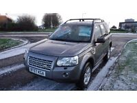 LANDROVER FREELANDER GD TD4 AUTOMATIC,2008,Leather,Alloys,Air Con,Full Service History,Very Clean