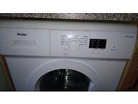 white washine machine