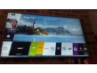 Lg 55 inch 4k ultra hd hdr smart tv like new