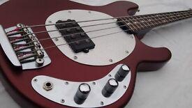 USA Made Musicman SUB Stingray Bass Guitar- Leo Fender Designed