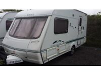 2 BERTH 2003 SWIFT CHALLENGER 1 OWNER CRIS REG. MOTOR MOVER AWNING ALL ACCESSORIES LUXURY BATHROOM