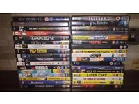 Selection of Top DVD Movies Lots of Genres