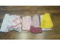 21 item Baby Girl Bundle 0-3 Months