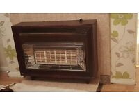 Retro gas fire