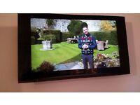 Panasonic Viera 37 inch TV with wall bracket