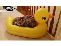 Baby bath duck inflatable