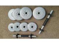Spin Lock Dumbbell Set York barbell