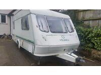 Elddis 5 berth caravan tourer